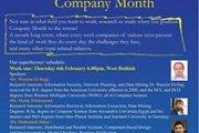AUB Company Month