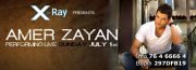 Amer Zayan performing Live At X-Ray nightclub