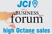"JCI Beirut Business Forum Program 2014: ""High Octane Sales"""