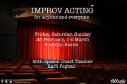 IMPROV ACTING WORKSHOP with Raffi Feghali at AltCity, Hamra