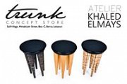 Atelier khaled el mays at trunk concept store