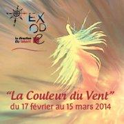 """""""La Couleur du Vent"""" Exposition Collective par Exode"""