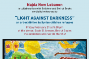 """Light Against Darkness"" - An Art Exhibition by Syrian Refugees by Najda Now Lebanon"