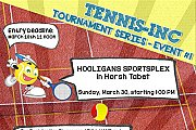 Tennis Inc Tournament Series Event #1