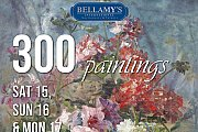 300 Paintings Exhibition at Bellamy's