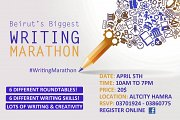Beirut's Biggest Writing Marathon
