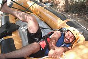 Whitewater rafting adventure on the al-assi river with HIKINGO