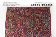 Exbroideries By Anita Toutikian (Analytic Art Installation)