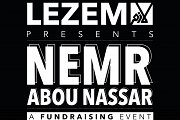Nemr Abou Nassar in a fundraising stand up