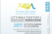 Discover Tannourine with the Walk For Your Life Group