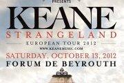 KEANE Concert in Beirut!