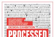 Processed - Design Exhibition by Rafik Hariri University students