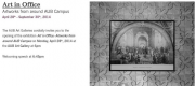 AUB Art Gallery 'Art in Office: Artworks from around AUB Campus'