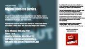Digital Cinema Basics - A Radio Beirut Workshop