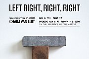 LEFT RIGHT, RIGHT, RIGHT Art Exhibition at WORKSHOP Gallery