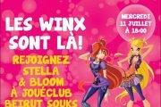 Les Winx à JouéClub Beirut Souks!