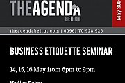 Business Etiquette Seminar with The Expert Mrs. Nadine Daher