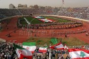 Football Match - Lebanon vs Iran