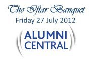 """The Iftar Banquet"", Alumni Central community & friends"