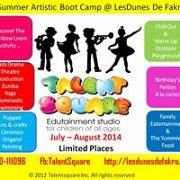 Artistic Summer Boot Camp @ Les Dunes De Fakra