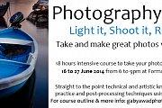 Photography Course: Light it, Shoot it, Retouch it