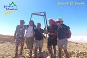 Hiking At Kornet al Sawda with Lebanese Adventure