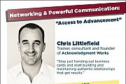 Access to Advancement - Networking and Powerful Communication Series by Christopher Littlefield