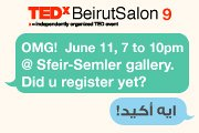 TEDxBeirutSalon 9