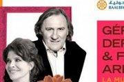 Gérard Depardieu & Fanny Ardan live at Baalbeck International Festival 2014