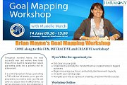 Brian Mayne Goal Mapping Workshop with Murielle March