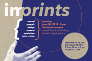 """IMPRINTS,"" the annual graphic design student exhibition at LAU"