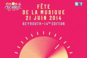 Fete de la Musique 2014 - Programme Beyrouth