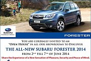 Subaru Forester Open House