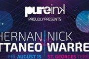 Pureink proudly presents Hernan Cattaneo B2B Nick Warren