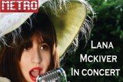 Lana Mckiver in Concert