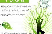 Open Air Yoga every Wednesday in Hotel Al Bustan Garden