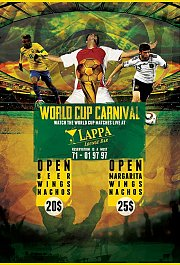 World cup Fifa 2014 at Lappa
