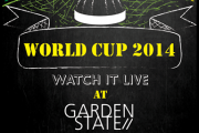 World Cup 2014 at GARDENSTATE