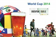 World Cup 2014 at Checkpoint Charlie