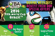 2014 FIFA World Cup at QBA Resto Pub