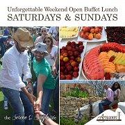 Weekend Open Buffet at Arnaoon Village