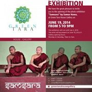 "Green Tara House Gallery - Photo Exhibition ""Samsara"" by Samar Hawa"