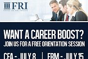 Free Orientation Sessions for CFA and FRM