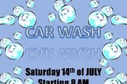 Fundraiser CAR WASH event for LIU