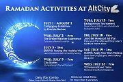 Ramadan Events & Actvities at AltCity