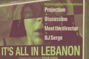 """PEACE INITIATIVES fundraising event: screening """"It's all in Lebanon"""""""