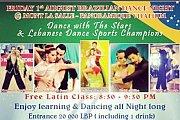 Brazilian Dance night/Dance with the stars & Lebanese danse sport champions