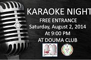 KARAOKE NIGHT - Part of DOUMA FESTIVAL 2014