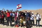 Qornet el Sawda Hiking with Dale Corazon