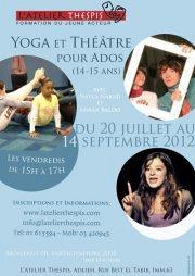 Yoga et Théâtre pour Ados (14-15 ans)